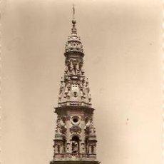 Postales: POSTAL SANTO DOMINGO DE LA CALZADA CATEDRAL TORRE. Lote 16678775