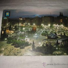 Postales: Nº 4 LOGROÑO PASEO DEL ESPOLON CIRCULADA EDICIONES DOMINGUEZ. Lote 17278510