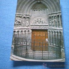 Postales: POSTAL LOGROÑO IGLESIA DE SAN BARTOLOME JESUITAS PUERTA IGLESIA NO CIRCULADA. Lote 17370563