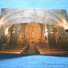 Postales: POSTAL LOGROÑO IGLESIA DE SAN BARTOLOME JESUITAS VISTA GENERAL INTERIOR NO CIRCULADA. Lote 17370566