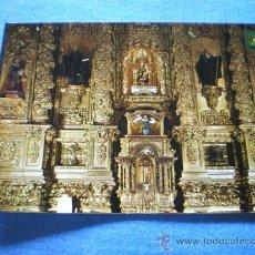 Postales: POSTAL NAJERA SANTA MARIA LA REAL DETALLE DEL RETABLO MAYOR NO CIRCULADA. Lote 17370631