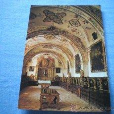 Postales: POSTAL SAN MILLAN DE LA COGOLLA MONASTERIO YUSO SACRISTIA S. XVIII NO CIRCULADA. Lote 17370694
