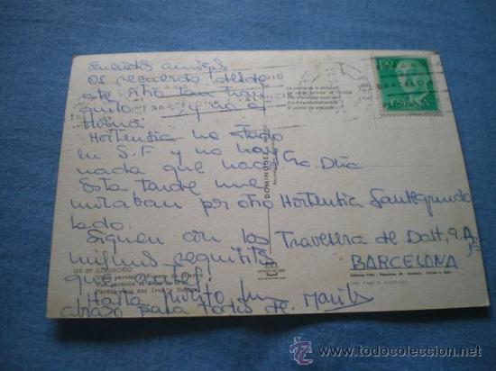 Postales: POSTAL LOGROÑO VISTA PARCIAL Y PUENTE HIERRO CIRCULADA - Foto 2 - 17371087