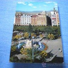 Postales: POSTAL LOGROÑO ESPOLON MONUMENTO A ESPARTERO CIRCULADA. Lote 17371120