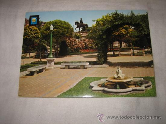 Nº 18 LOGROÑO PASEO DEL ESPOLON DETALLE EDICIONES DOMINGUEZ (Postales - España - La Rioja Moderna (desde 1.940))