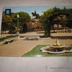 Postales: Nº 18 LOGROÑO PASEO DEL ESPOLON DETALLE EDICIONES DOMINGUEZ. Lote 17397709