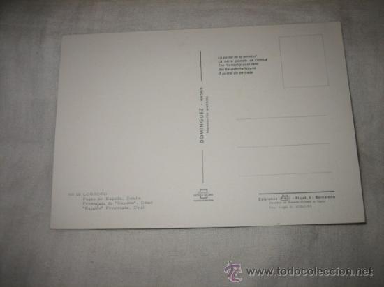Postales: Nº 18 LOGROÑO PASEO DEL ESPOLON DETALLE EDICIONES DOMINGUEZ - Foto 2 - 17397709