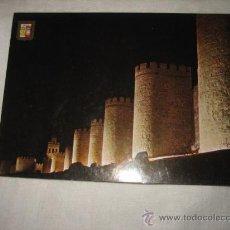 Postales: Nº 19 AVILA MURALLAS VISTA NOCTURNA EDICIONES DOMINGUEZ. Lote 17398534