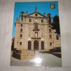 Postales: Nº 45 AVILA FACHADA DEL CONVENTO DE SANTA TERESA EDICIONES DOMINGUEZ. Lote 17398614