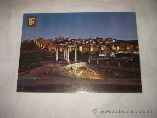 Nº 27 AVILA VISTA GENERAL NOCTURNA EDICIONES DOMINGUEZ (Postales - España - La Rioja Moderna (desde 1.940))