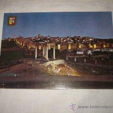 Postales: Nº 27 AVILA VISTA GENERAL NOCTURNA EDICIONES DOMINGUEZ. Lote 17398686
