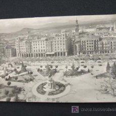 Postales: LOGROÑO - VISTA GENERAL DEL ESPOLON - . Lote 17501788