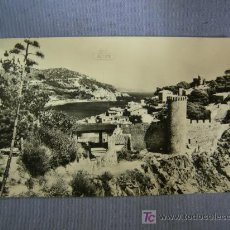 Postales: POSTAL DE TOSSA DEL MAR. CALA EL CODOLAR Y MURALLAS.- COSTA BRAVA. Lote 27413797