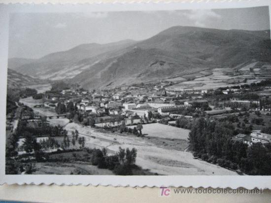 EZCARAY. Nª 7 VISTA GENERAL. ED. ARRIBAS. CIRCULADA 1958 (Postales - España - La Rioja Moderna (desde 1.940))