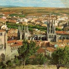 Postales: POSTAL SIN CIRCULAR DE BURGOS,CATEDRAL Y VISTA GENERAL.. Lote 20215429