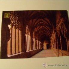Postales: POSTAL DE NÁJERA, LOGROÑO, CLAUSTRO DE LOS CABALLEROS. POSTAL 382. Lote 20315417