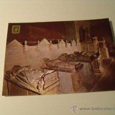 Postales: POSTAL DE NÁJERA, LOGROÑO, SANTA MARÍA LA REAL, PANTEÓN DE LOS REYES. POSTAL 387. Lote 20315580