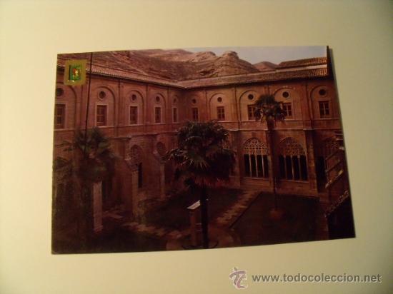 POSTAL DE NÁJERA, LOGROÑO, SANTA MARÍA LA REAL, CLAUSTRO DE LOS CABALLEROS SIN CIRCULAR. POSTAL 388 (Postales - España - La Rioja Moderna (desde 1.940))