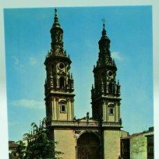 Postales: POSTAL CATEDRAL LOGROÑO SERIE CATEDRALES DE ESPAÑA ED VISTABELLA 1972 SIN CIRCULAR. Lote 22206507