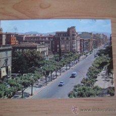 Postales: 24 LOGROÑO. AVENIDA DEL GENERAL VARA DE REY. CIRCULADA EN 1973. LITERACOMIC.. Lote 22661735