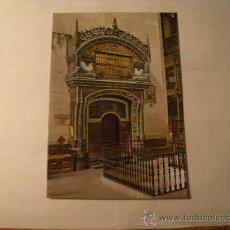 Postales: POSTALD E SANTO DOMINGO DE LA CALZADA. EL GALLINERO. S/C POSTAL 667. Lote 22709424