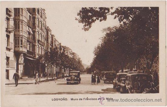 LOGROÑO MURO DE FRANCISCO DE LA MATA,EDICIONES M ARRIBAS (Postales - España - La Rioja Moderna (desde 1.940))