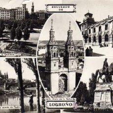Postales: LOGROÑO SANTA MARÍA DE LA RODONDA SIN CIRCULAR ESCRITA ED. ARRIBAS. Lote 27285150