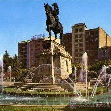 Postales: POSTAL LOGROÑO ESTATUA DEL GENERAL ESPARTERO. Lote 24497902