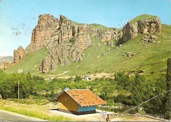 LOGROÑO. VALLE DEL IREGUA. PAISAJE - EDICIONES ARRIBAS Nº 2027 - CIRCULADA (Postales - España - La Rioja Moderna (desde 1.940))