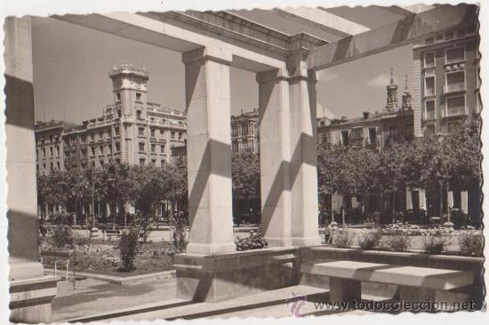 LOGROÑO VISTA PARCIAL DEL PASEO DEL ESPOLON (Postales - España - La Rioja Moderna (desde 1.940))