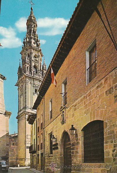 SANTO DOMINGO DE LA CALZADA, PARADOR NACIONAL Y TORRE DE LA CATEDRAL (Postales - España - La Rioja Moderna (desde 1.940))