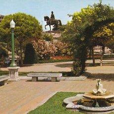 Postales: LOGROÑO, PASEO DEL ESPOLON. Lote 26130279