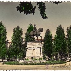 Postales: BONITA POSTAL - LOGROÑO - ESPOLON Y MONUMENTO AL GENERAL ESPARTERO. Lote 26256474