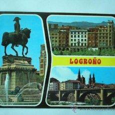 Postales: LOGROÑO. Nº 26. ED. GARCIA GARRABELLA. ESCRITA Y CIRCULADA. Lote 26818898