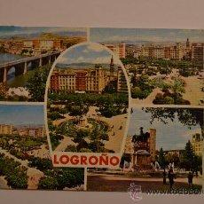 Postales: 309 LOGROÑO. EDICIONES PARIS.. Lote 27209513