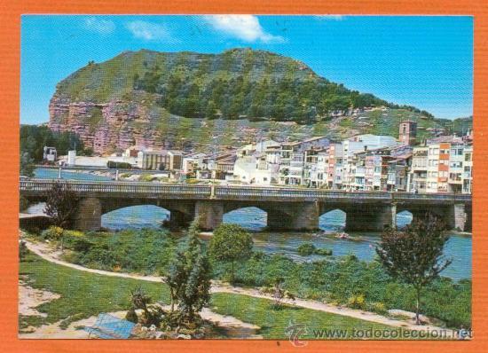 NAJERA - LA RIOJA - PUENTE DE SAN JUAN DE ORTEGA - Nº 4839 COLECCION PERLA (Postales - España - La Rioja Moderna (desde 1.940))