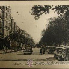 Postales: LOGROÑO - MURO DE FRANCISCO DE LA MATA . Lote 27876562