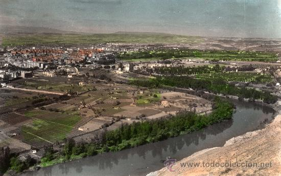 ANTIGUA POSTAL DE LOGROÑO, VISTA GENERAL, ED. SICILIA, S/C (Postales - España - La Rioja Moderna (desde 1.940))