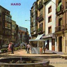 Postales: HARO Nº 312 CALLE VICTOR PRADERA Y FUENTE ED. PARÍS ESCRITA CIRCULADA SELLO. Lote 31692161