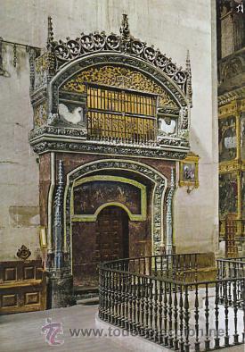 SANTO DOMINGO DE LA CALZADA, CATEDRAL, EL GALLINERO, EDITOR: POSTAL INTER, BURGOS Nº 4 (Postales - España - La Rioja Moderna (desde 1.940))