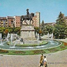 Postales: LOGROÑO, FUENTE DEL GENERAL ESPARTERO, EDITOR: PARIS Nº 494. Lote 33404256