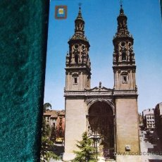 Postales: LOGROÑO-V7-NO ESCRITA-DESPEGADA-SANTA MARIA DE LA REDONDA. Lote 34574003