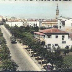 Postales: SANTO DOMINGO DE LA CALZADA (LA RIOJA).- AVDA DE LOS CUERPOS DE OBRAS PUBLICA. Lote 35006170