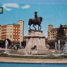 Postales: POSTAL DE LA RIOJA. AÑO 1966. LOGROÑO, JARDINES A ESPARTERO. 443. . Lote 36030110