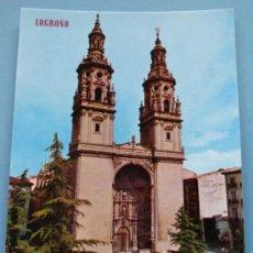 Postales: POSTAL DE LA RIOJA. AÑO 1971. LOGROÑO, TORRES DE LA CATEDRAL REDONDA. 1091. . Lote 36176012