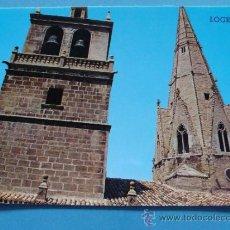 Postales: POSTAL DE LA RIOJA. AÑO 1971. LOGROÑO, TORRE Y AGUJA DEL PALACIO. 1092. . Lote 36176029
