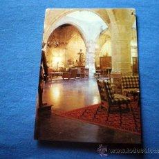 Postales: POSTAL SANTO DOMINGO DE LA CALZADA PARADOR NACIONAL INTERIOR NO CIRCULADA. Lote 36290317