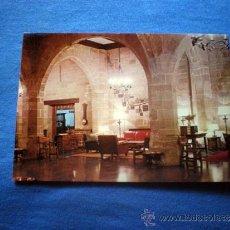 Postales: POSTAL SANTO DOMINGO DE LA CALZADA PARADOR NACIONAL INTERIOR NO CIRCULADA. Lote 36290324