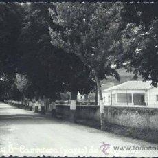 Postales: EZCARAY (LA RIOJA).- CARRETERA (PASEO) DE VALGAÑÓN. Lote 37117400
