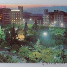 Postales: POSTAL DE LA RIOJA. AÑO 1974. LOGROÑO, PASEO DEL ESPOLÓN. 867 . Lote 37557175